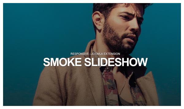 smoke slideshow joomla extension
