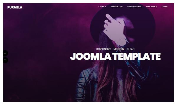 purmela joomla template
