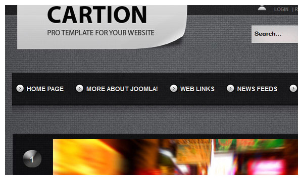 cartion joomla template