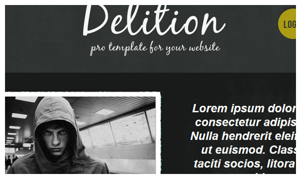 delition joomla template