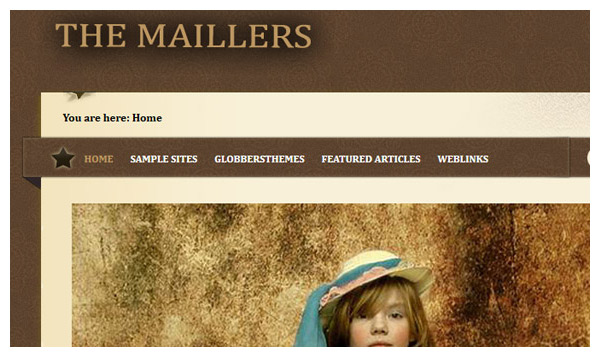 maillers 2 joomla template