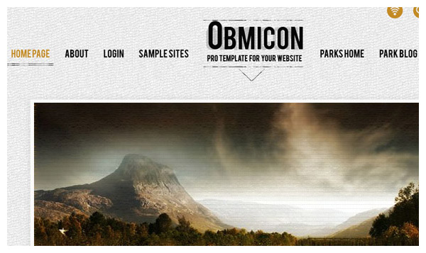 obmicon joomla template