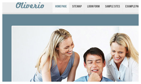 oliverio joomla template