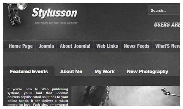 stylusson joomla template