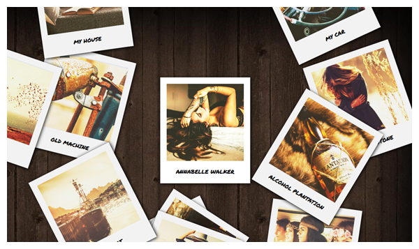 polaroid gallery joomla extension