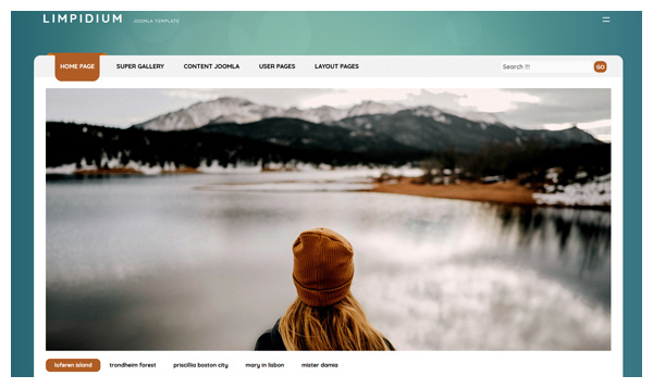 joomla template limpidium